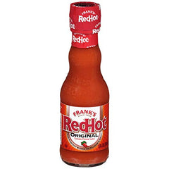 Frank's RedHot American Hot Sauce, Gluten Free, Hot Sauce, 5 Ounce (Pack of 12)