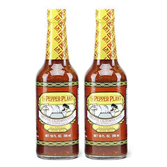 The Pepper Plant Hot Sauce, Original, 10 Oz (Pack of 2)