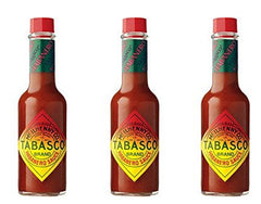 Tabasco Habanero Pepper Hot Sauce, 5 oz Pack of 3
