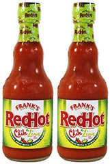 Frank's RedHot Chile 'n Lime Hot Sauce 12 oz Bottle (Pack of 2)