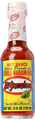 El Yucateco Red Hot Sauce, 4 Fluid Ounce