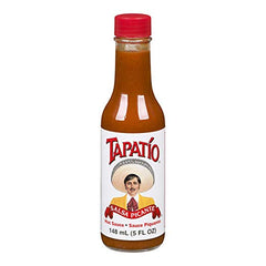 Tapatio Salsa PiCante Hot Sauce Garlic, Spices 5 oz