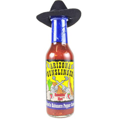 Arizona Gunslinger Smokin Hot Chipotle Habanero Pepper Sauce with Hat