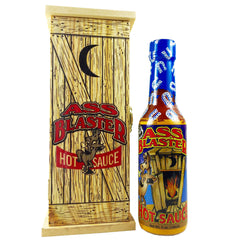 Ass Blaster With Wooden Outhouse,great Gift Habanero Pepper Tangy Flavor 5oz