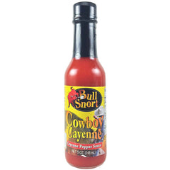 Cowboy Cayenne Pepper Hot Sauce