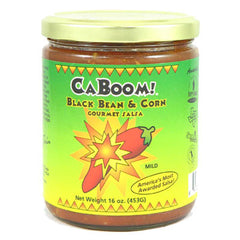 Caboom Black Bean and Corn Gourmet Salsa