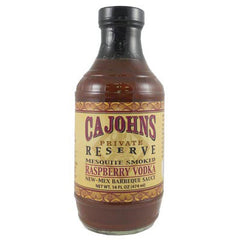 Mesquite Smoked Raspberry Vodka New-Mex Barbeque Sauce