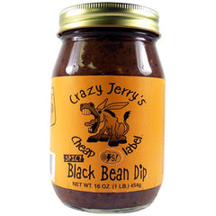 Cheap @$$! Label Spicy Black Bean Dip