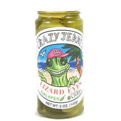 Lizard Eyes Jalapeno Stuffed Olives