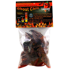 Dried Ghost Chili Pods