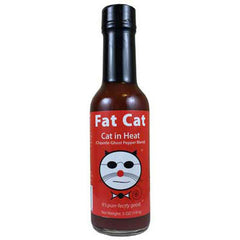 Cat in Heat: Chipotle Ghost Pepper Blend Hot Sauce
