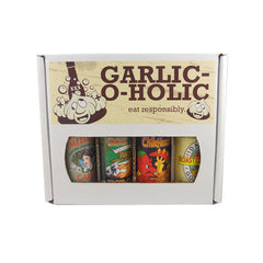 Garlic-O-Holic Hot Sauce Gift Box