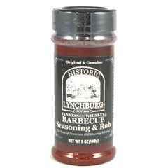 Historic Lynchburg Tennessee Whiskey Barbecue Seasoning & Rub
