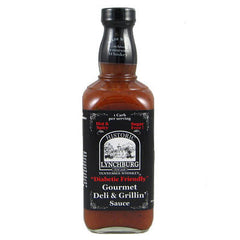"Historic Lynchburg Tennessee Whiskey ""Diabetic Friendly"" Gourmet Deli & Grillin' Sauce - HOT"