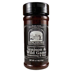 Historic Lynchburg Tennessee Whiskey Venison & Wild Game Seasoning & Rub