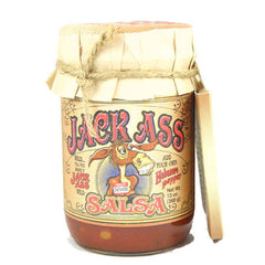 Jack Ass Salsa with Heat Packet