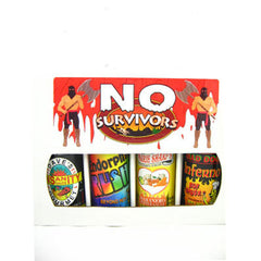 No Survivors Hot Sauce Box