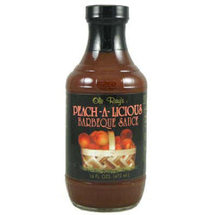 Peach-A-Licious Barbecue Sauce