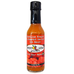 Carolina Reaper Roasted Garlic Hot Sauce