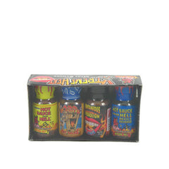 Xtreme Heat Mini Hot Sauce Four Pack