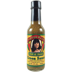 Hot and Sweet Green Hot Sauce