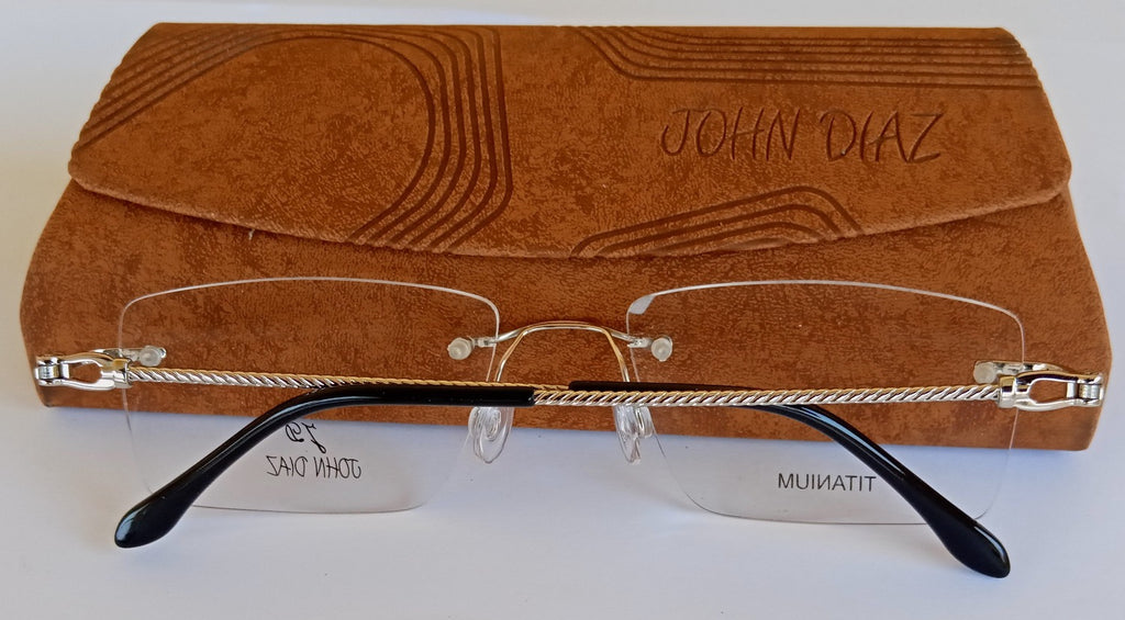 JOHN DIAZ  RTM160612 EYEGLASSES - Excellency - Silver - glasses in Lagos, Nigeria.Sunglasses in Abuja. Photochromic. Cateye. Antiglare