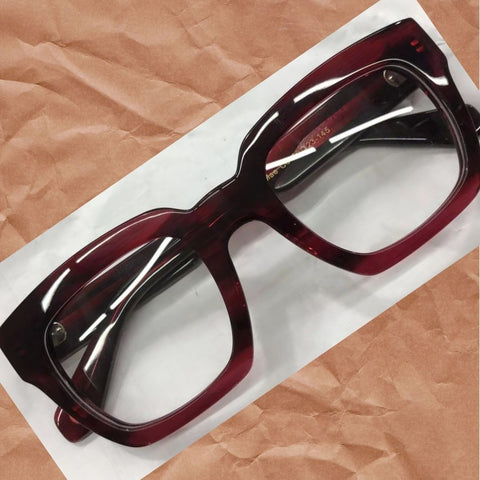 JOHN DIAZ  RA120912 EYEGLASSES - Mae Dark  RED - glasses in Lagos, Nigeria.Sunglasses in Abuja. Photochromic. Cateye. Antiglare