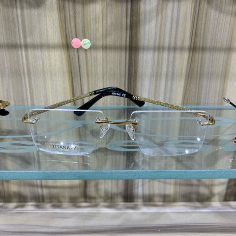 JOHN DIAZ  RTM160570 Connoisseur EYEGLASSES - Gold - glasses in Lagos, Nigeria.Sunglasses in Abuja. Photochromic. Cateye. Antiglare