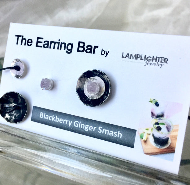 Introducing the latest Earring Bar Top Shelf earrings, Studs and Ear Jackets