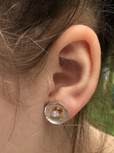 Two Tone Gold and Silver Ear Jacket