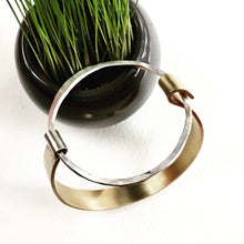 Marie - Large Open Circle Bangle