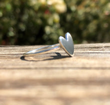 Polished Heart Ring