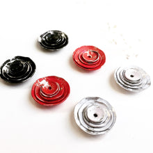 Distressed Painted Earring Jackets
