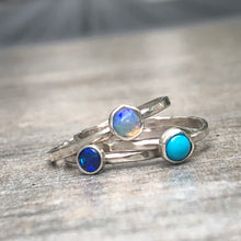 Blue Waters Ring Set