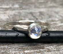 Luna - Moonstone Stacking Ring
