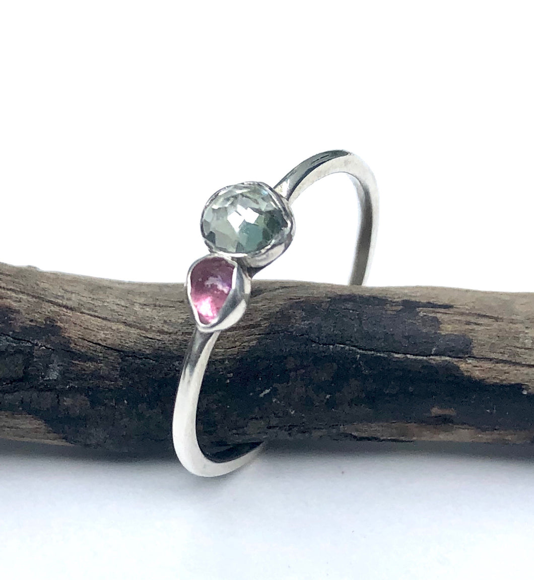 Lily - Two Gemstone Ring