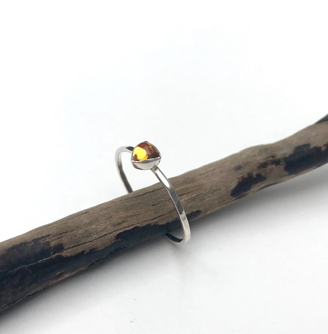 Joy - Citrine Stacking Ring