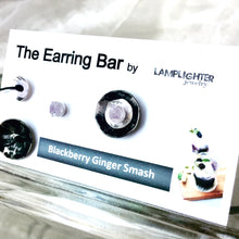 Blackberry Ginger Smash Earrings