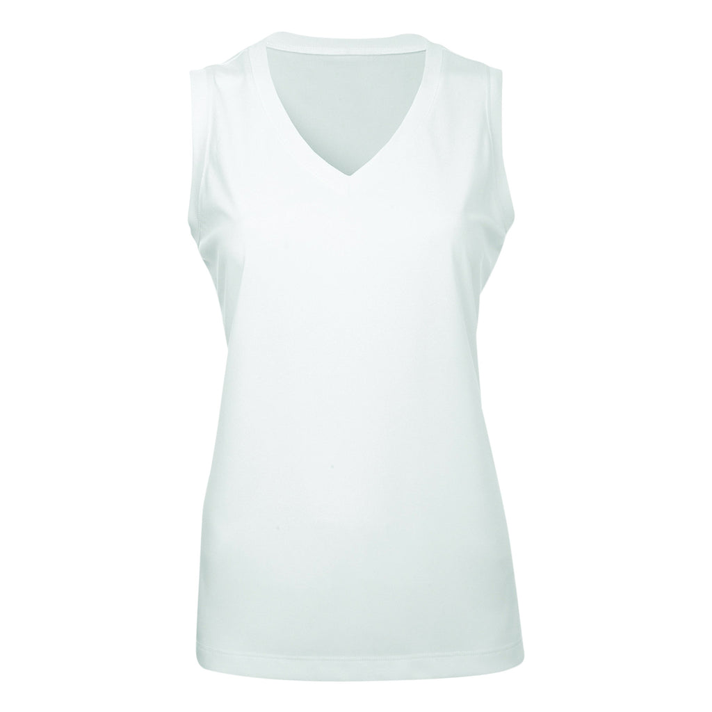 Ladies High Performance Sleeveless Shirt
