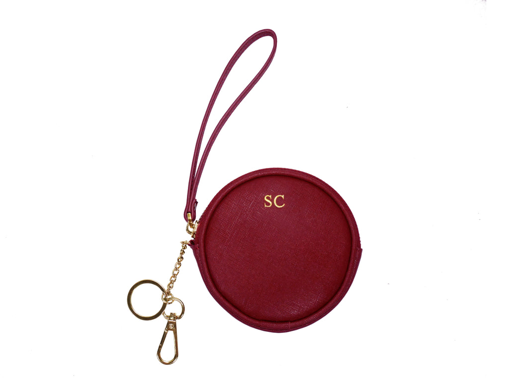 Kayla Coin Purse (Burgundy)