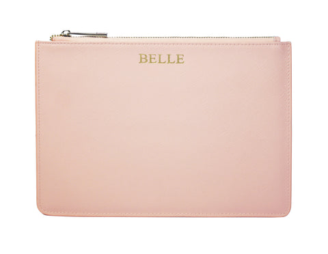 Signature Pouch - Blush Pink