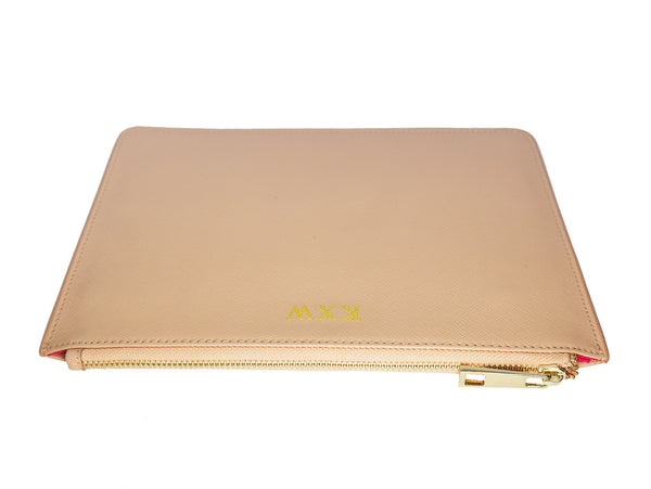 Signature Pouch - Taupe