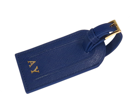 Metro Luggage tag - Navy Blue