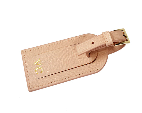 Metro Luggage tag - Taupe