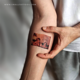 Raphael's Putti (Sistine Madonna) Temporary Tattoo (Set of 2)