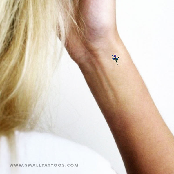 Berries Temporary Tattoo by Zihee (Set of 3)