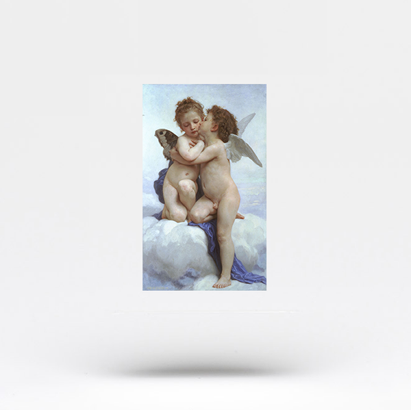 Bouguereau's First Kiss Temporary Tattoo (Set of 3)