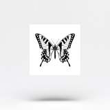 Swallowtail Butterfly Temporary Tattoo (Set of 3)