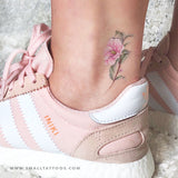 Camellia Temporary Tattoo by Mini Lau (Set of 3)