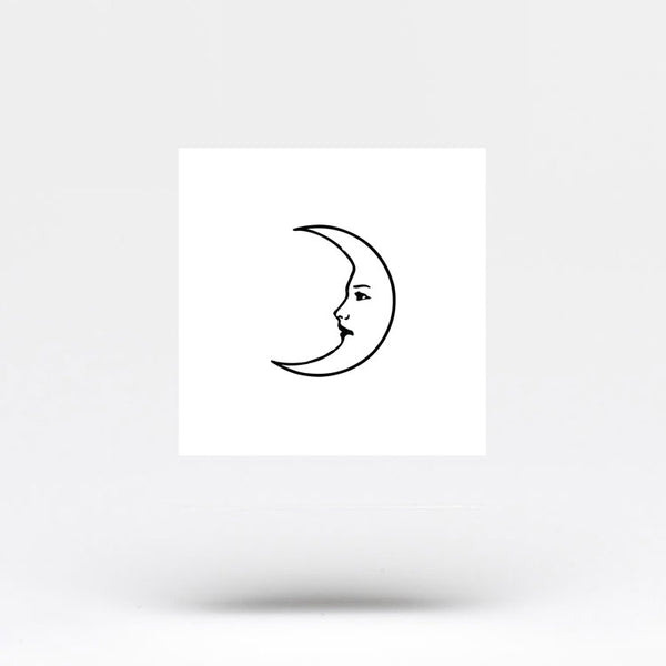 La Luna Crescent Temporary Tattoo (Set of 3)